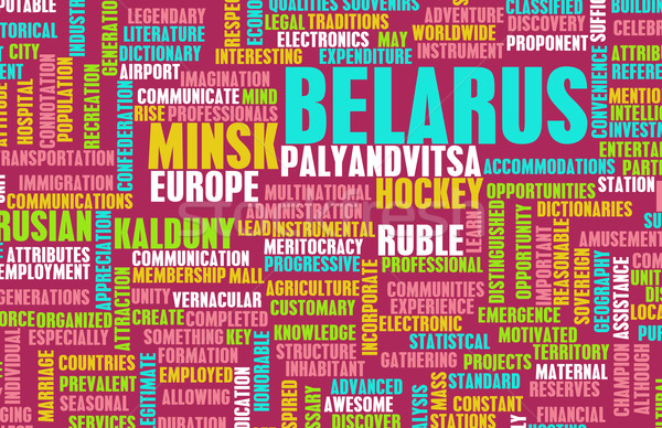 Belarus Stock photo © kentoh