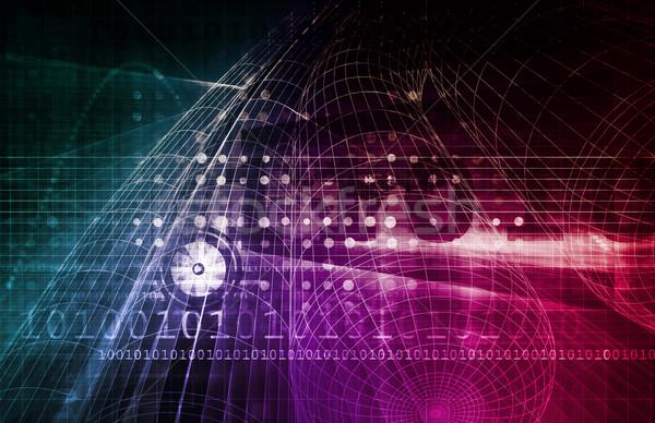 Computer Security Concept Stock photo © kentoh