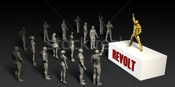 Revolt Stock photo © kentoh