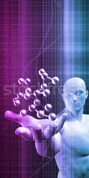 Science Molecular DNA Structure Stock photo © kentoh