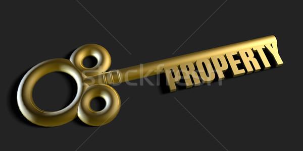 Key To Your Property Stock photo © kentoh