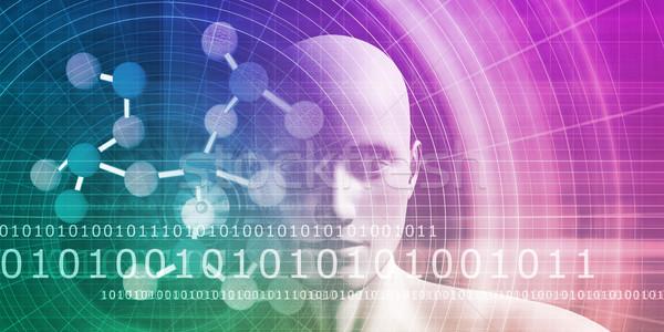 Gelecek tıbbi eğitim tıp bilim Stok fotoğraf © kentoh