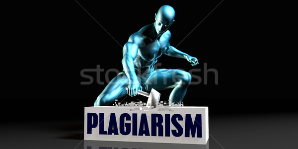 Get Rid of Plagiarism Stock photo © kentoh