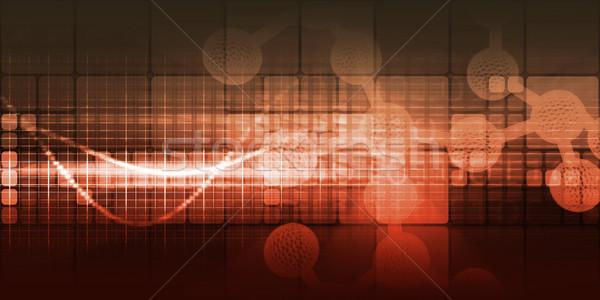 Sağlık gen tedavi sağlık tıp bilim Stok fotoğraf © kentoh