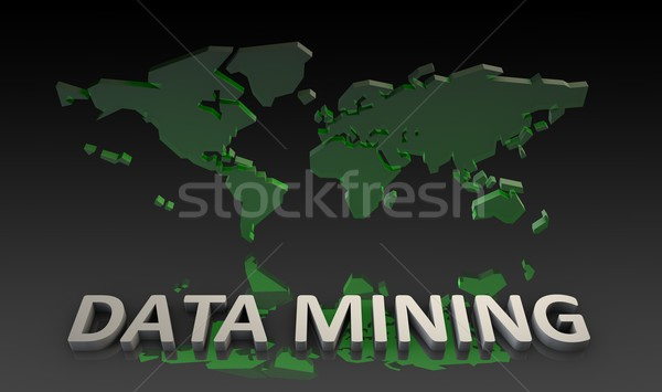 Data Mining Stock photo © kentoh