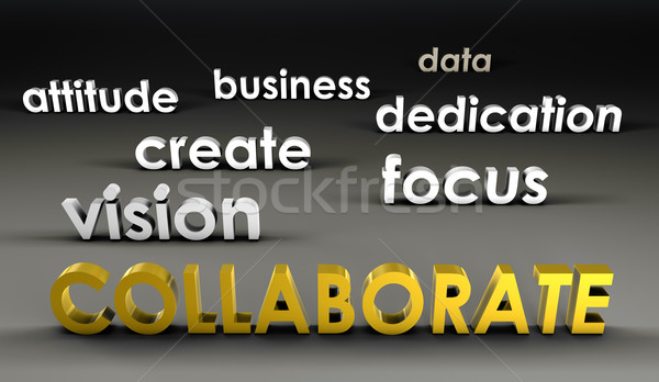 Collaborate at the Forefront Stock photo © kentoh
