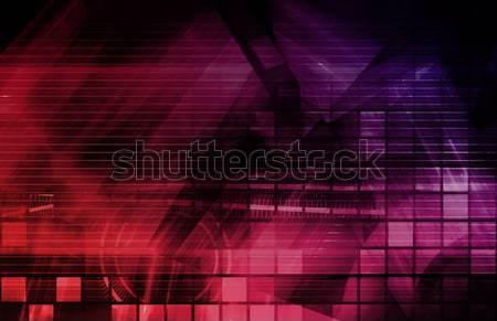 Internet Abstract Background Stock photo © kentoh