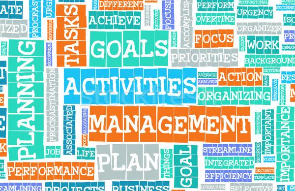 管理 時間 ビジネス 背景 企業 ストックフォト © kentoh