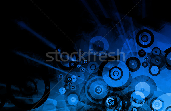 Partying Nightlife Abstract Background Stock photo © kentoh