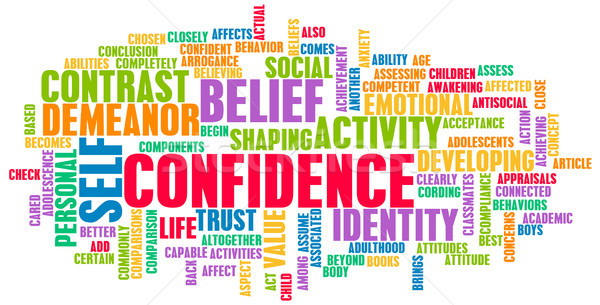 Confidence Stock photo © kentoh
