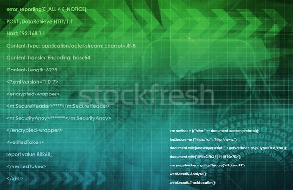 Информационные технологии данные сеть служба фон корпоративного Сток-фото © kentoh