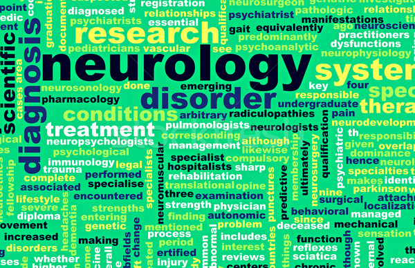 Neurology Stock photo © kentoh