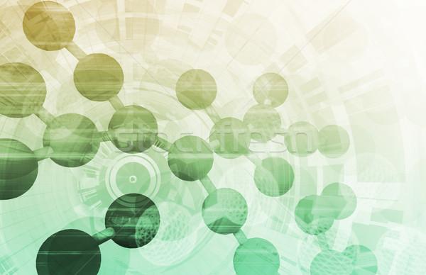 Medische ontdekking nieuwe idee onderzoek business Stockfoto © kentoh