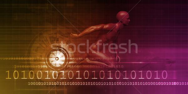 ресурс бизнеса служба компания маркетинга человека Сток-фото © kentoh