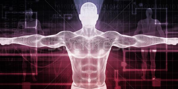 Elektronikus gyógyszer medicate technológia orvos orvosi Stock fotó © kentoh