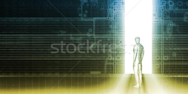 Digital Technology Stock photo © kentoh