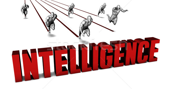 Beter verstand business team racing zakenman lopen Stockfoto © kentoh