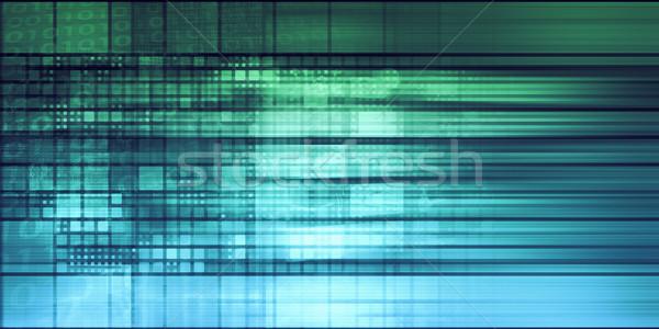 аннотация Пиксели Creative текстуры шаблон ретро Сток-фото © kentoh
