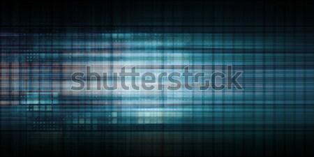 Orvostudomány modern technológia orvosi ipari jövő Stock fotó © kentoh