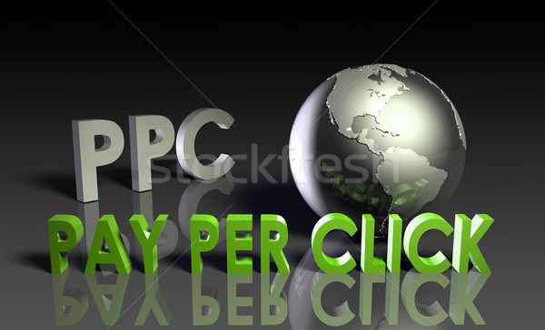 Pay Per Click Stock photo © kentoh