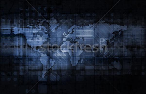 Integrato soluzioni web cross velocità Foto d'archivio © kentoh
