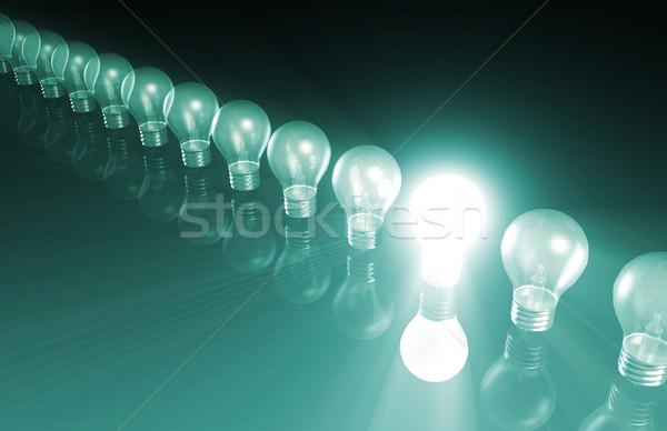 Mercado investigación plan producto negocios fondo Foto stock © kentoh