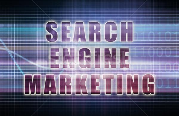 поисковая маркетинга бизнеса диаграммы аннотация программное Сток-фото © kentoh