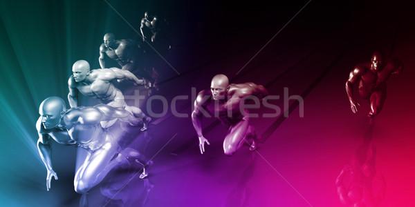 Sports Science Stock photo © kentoh