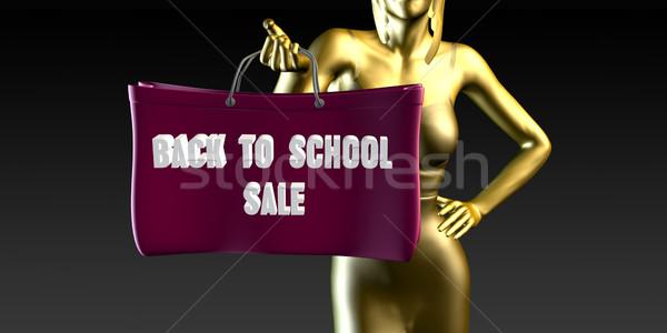 Back to School Sale Stock photo © kentoh