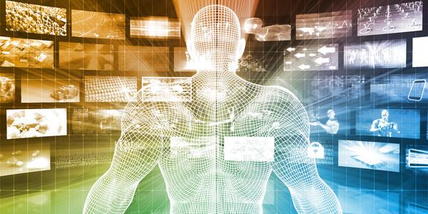 мультимедийные данные онлайн бизнеса компьютер Сток-фото © kentoh