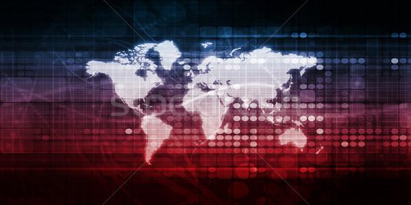 Global Access Stock photo © kentoh