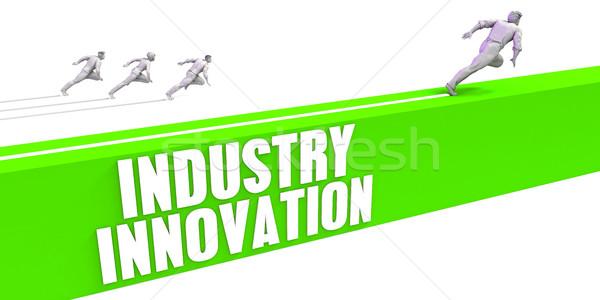 Industry Innovation Stock photo © kentoh