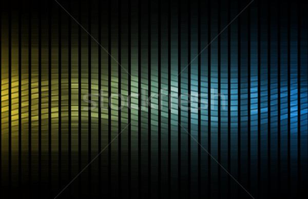 Daten Netzwerk schnell bewegen Computer abstrakten Stock foto © kentoh