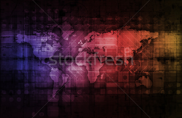 Integrated System Stock photo © kentoh