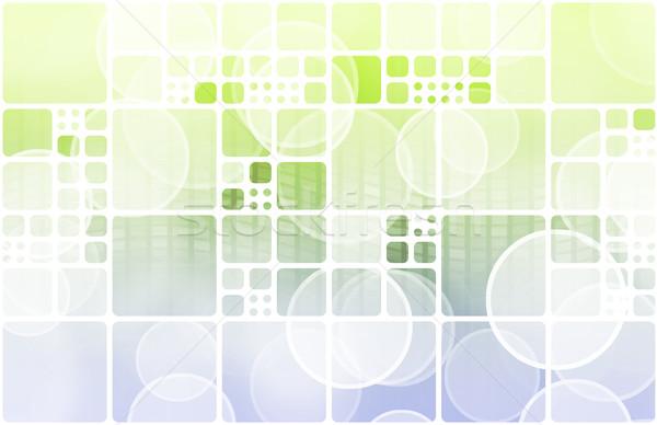B2b бизнеса компьютер дизайна технологий фон Сток-фото © kentoh