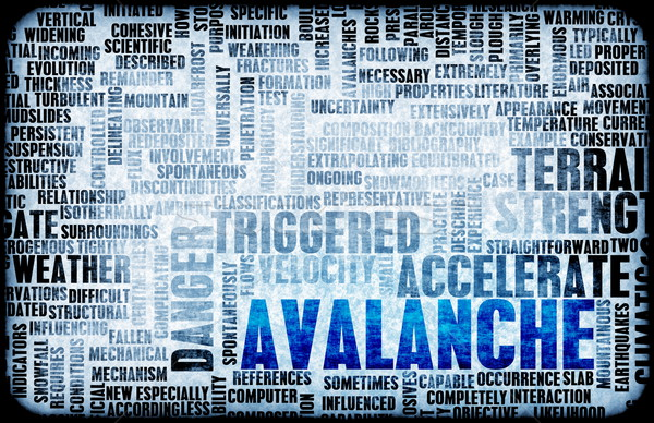 Avalanche Stock photo © kentoh