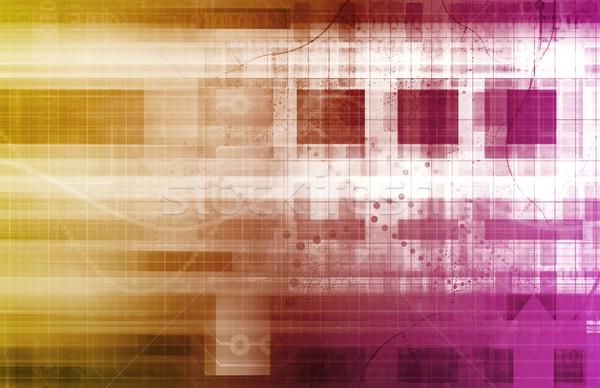 Grand données avancé analytics affaires internet Photo stock © kentoh