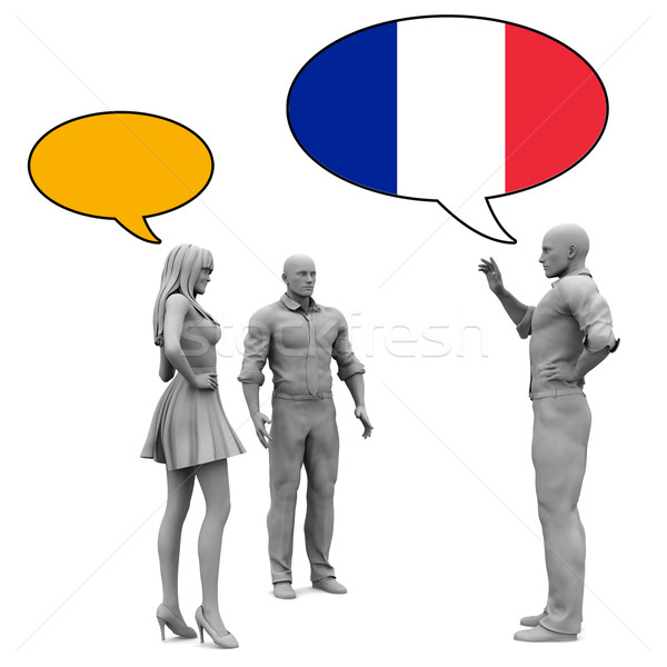 Learn French Stock photo © kentoh