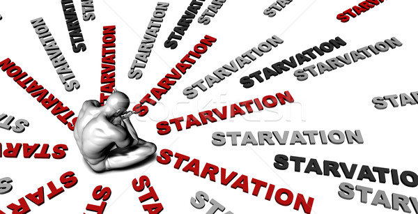 Starvation Stock photo © kentoh