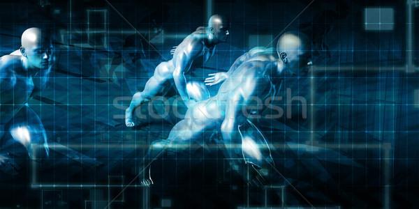 Virtual Workforce Stock photo © kentoh