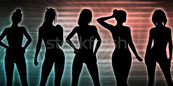 Stock photo: Nightclub Dancers