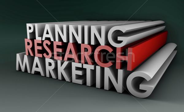 Estratégia de marketing assinar corporativo futuro companhia alvo Foto stock © kentoh