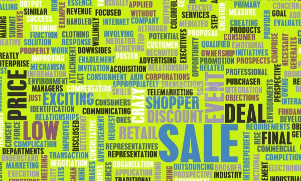 Sale Stock photo © kentoh