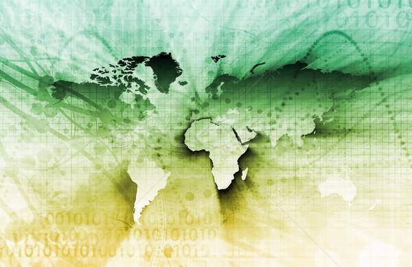Futuristic Technology Stock photo © kentoh