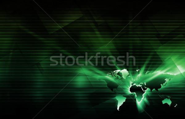 Integratie bestanddeel technologie netwerk software digitale Stockfoto © kentoh