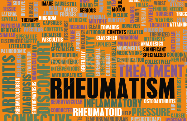 Rheumatism Stock photo © kentoh