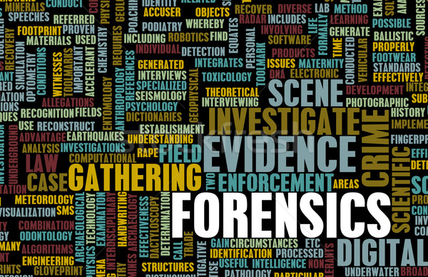 Forensics Stock photo © kentoh