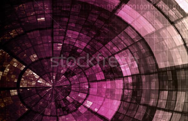 Information System Stock photo © kentoh
