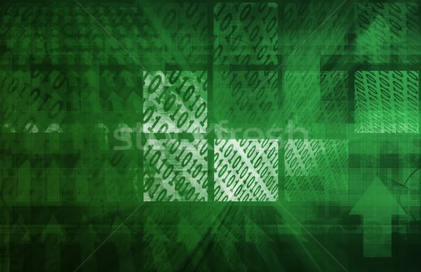 Bináris kód számítógép textúra absztrakt fény terv Stock fotó © kentoh