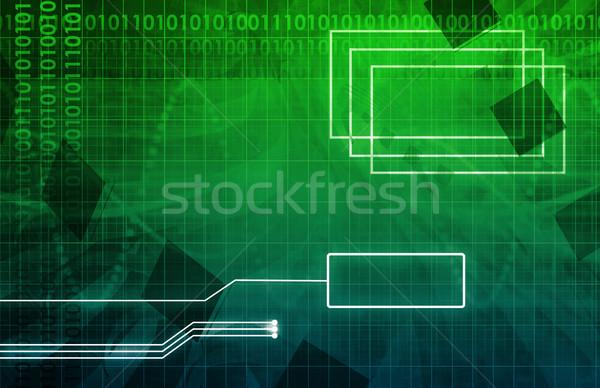 Desenvolvimento ferramenta utilidade arte negócio Foto stock © kentoh